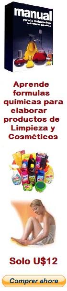 Banner Formulas Productos Limpieza