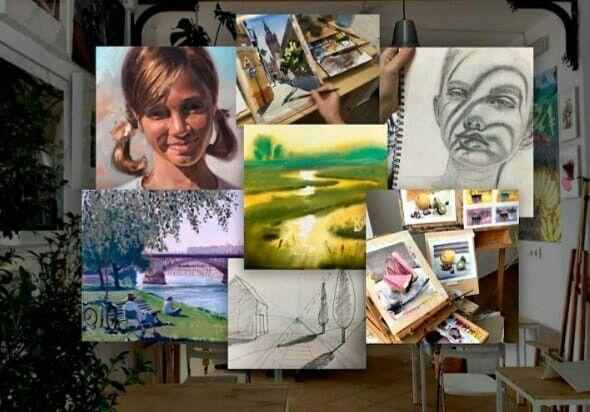 Cursos de Artes, Diseño, Pintura y Dibujo