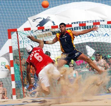 handbol playa