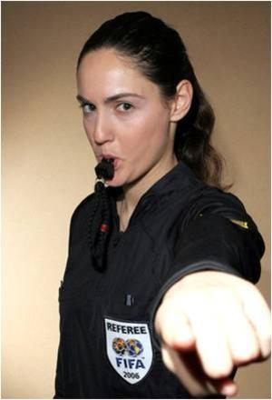 Mujer Arbitro
